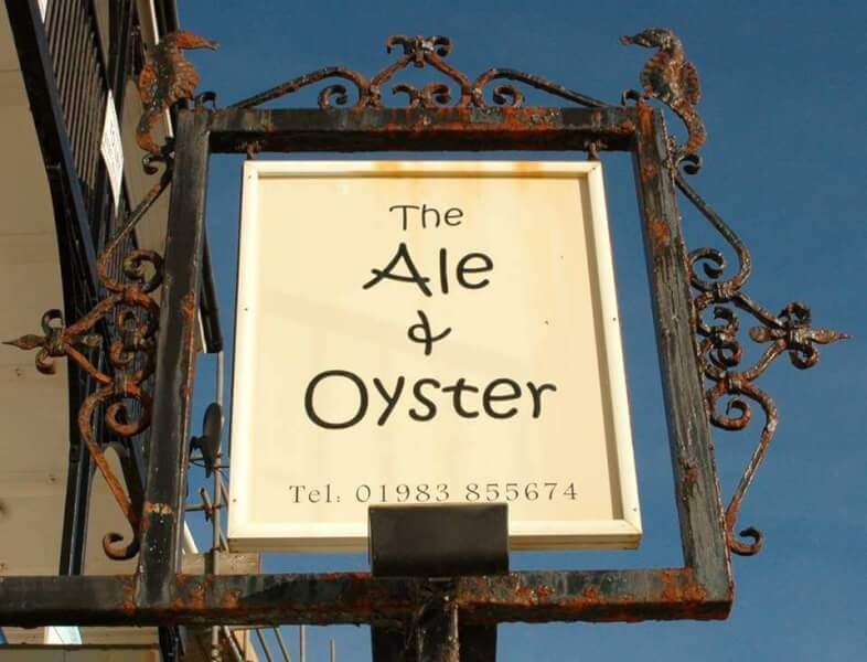 Ale and Oyster ventnor isle of wight