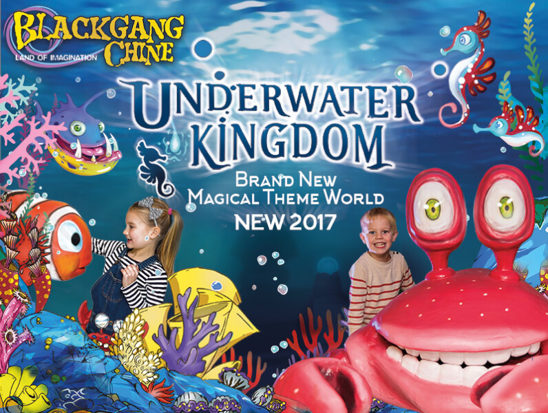 Underwater Kingdom Blackgang Chine Isle of Wight