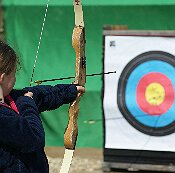 Archery at Adventure Activities this Easter