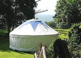 Bank End Farm Yurts Isle of Wight