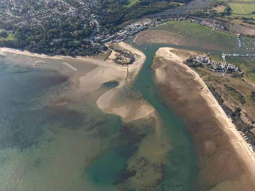Bembridge Harbour Beach Isle of Wight