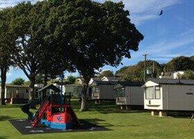 Cheverton Copse Holiday Park Sandown Isle of Wight Caravan camp site camping