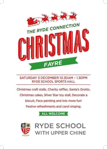 christmas-fayre-ryde-isle of wight