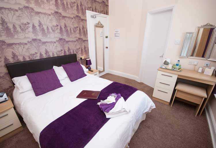 Double Bedroom 3 Hambledon Hotel Shanklin Isle of Wight