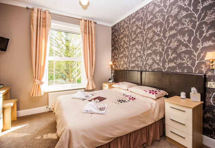 Double Bedroom Hambledon Hotel Shanklin Isle of Wight