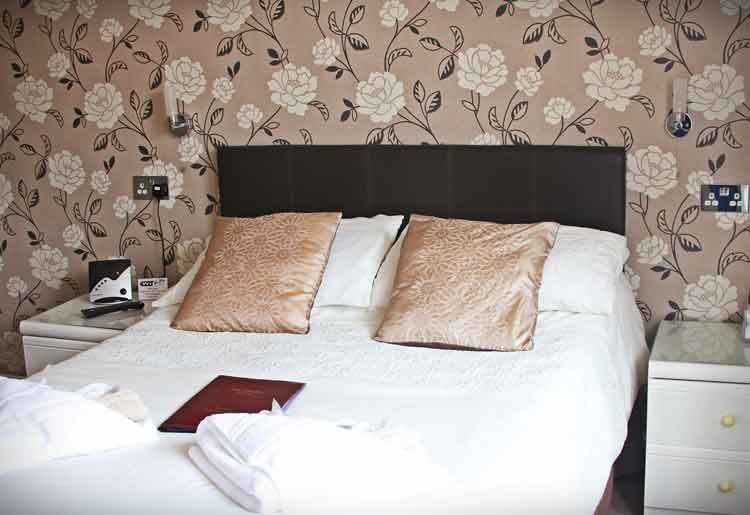 Family Bedroom Hambledon Hotel Shanklin Isle of Wight