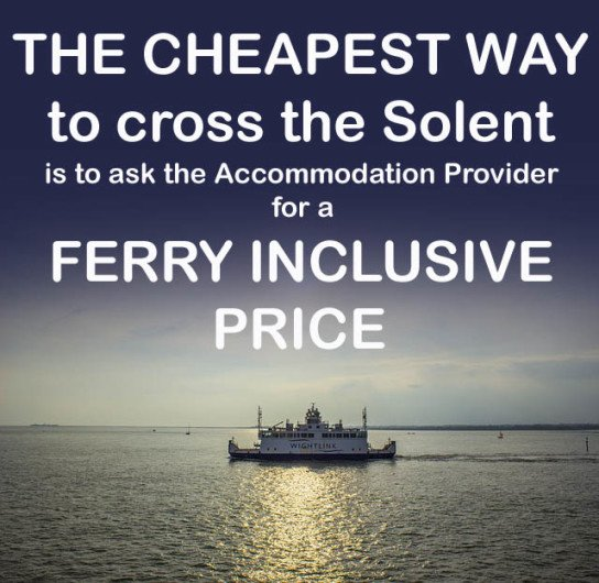 Ferry Inclusive Prices Isle of Wight