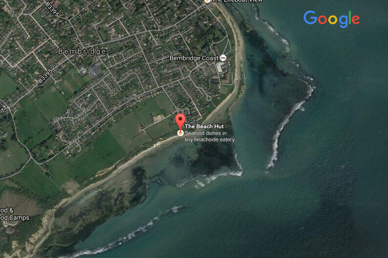 Forelands Beach Bembridge Isle of Wight