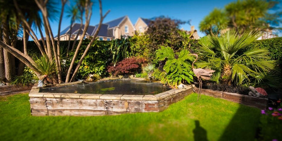 Garden Hambledon Hotel Shanklin Isle of Wight