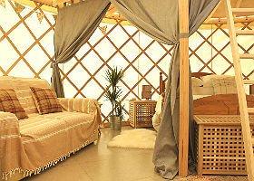 Garlic Farm Luxury Yurts Isle of Wight