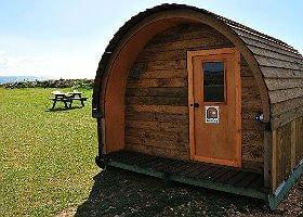 Grange Farm Pods camping isle of wight