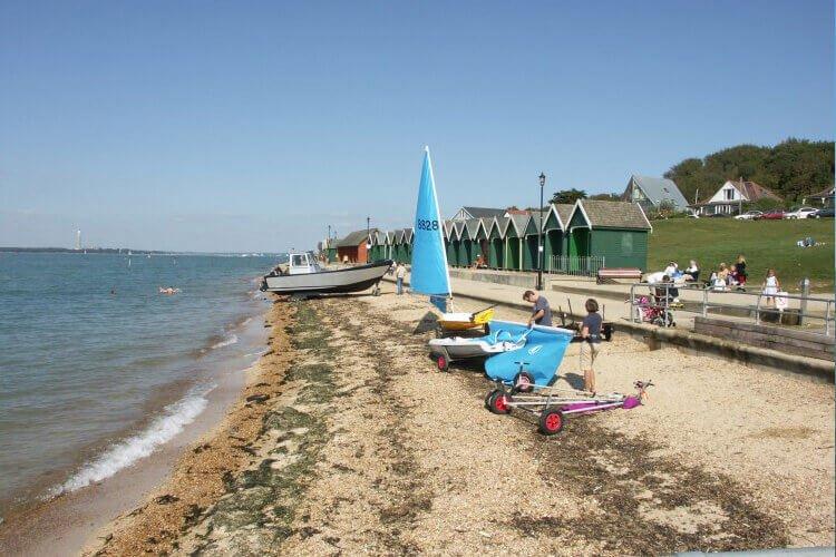 Gurnard Beach Isle of Wight portfolio