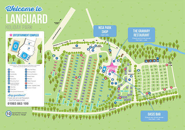 Landguard Holiday Park Shanklin Isle of Wight  Isle of Wight