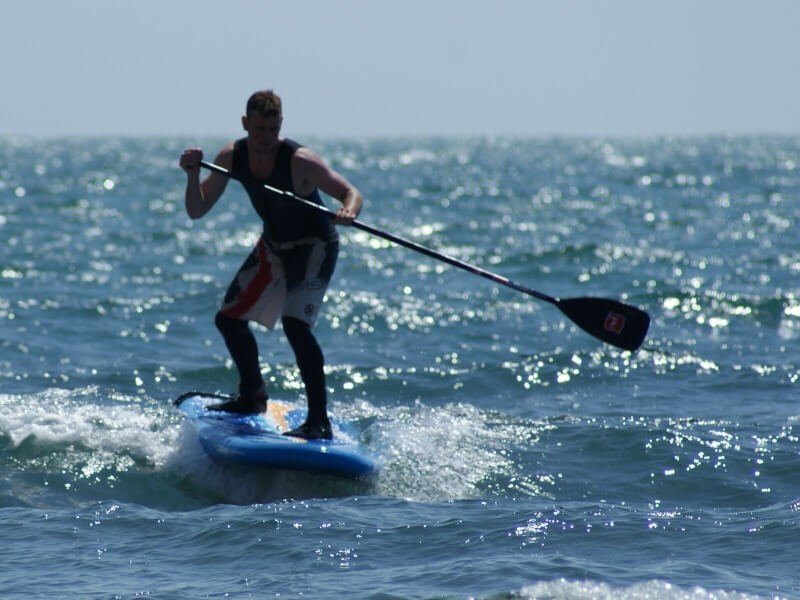 Paddle bording with Adventure Activities