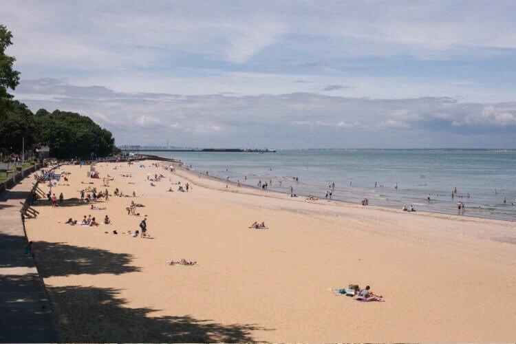 Ryde Beach Isle of Wight portfolio
