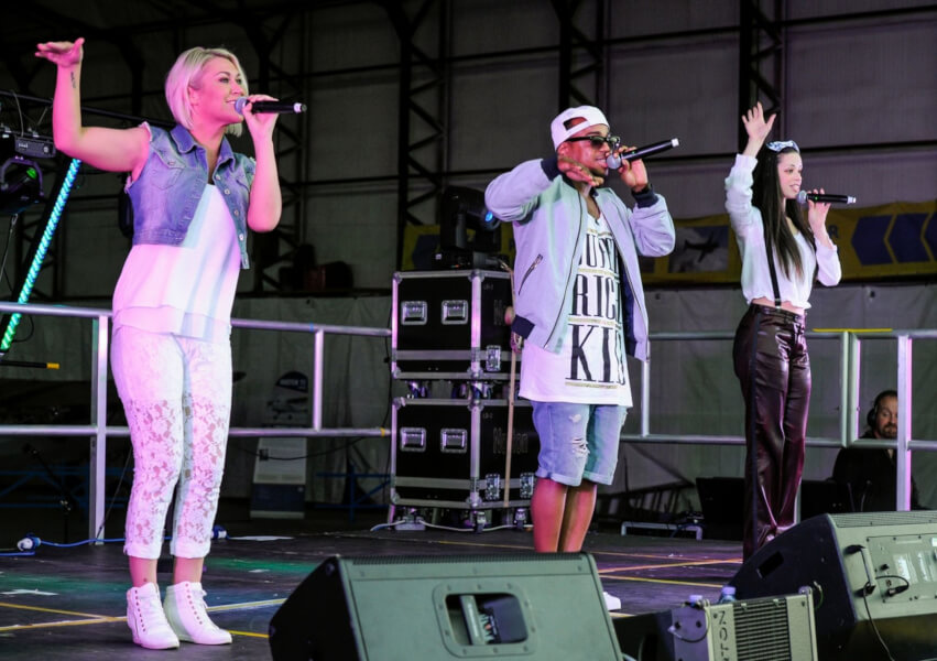 S Club at Jack up the 80s Isle of Wight in 2017
