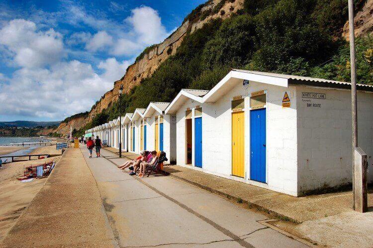 Sandown Beach Isle of Wight