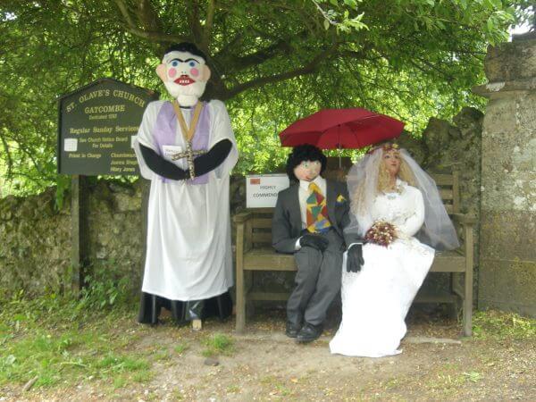 Scarecrow Festival Isle of Wight Chillerton