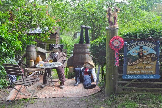 Scarecrow Festival at Gatcombe & Chillerton Isle of Wight