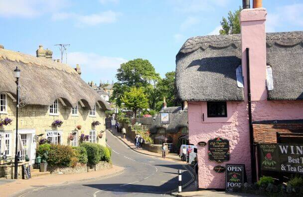 Shanklin Old Village isle of wight