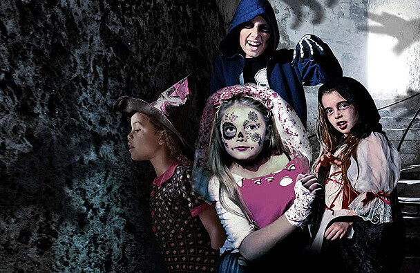 spooky-castle-carisbrooke-isle-of-wight 2016