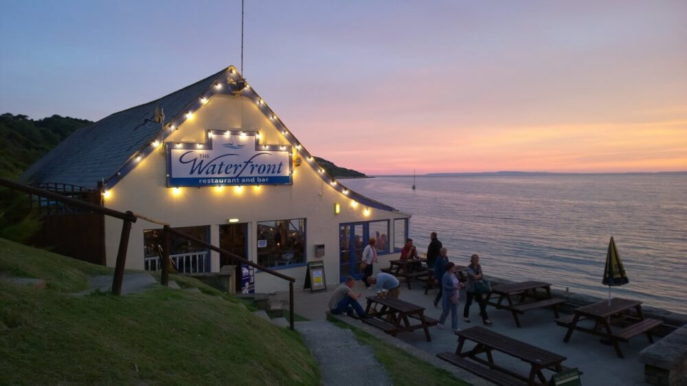 Waterfront Totland Bay Isle of Wight