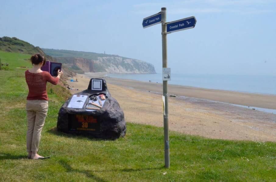 Yaverland Beach Sandown Isle of Wight