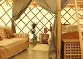 Luxury Yurts Isle of Wight