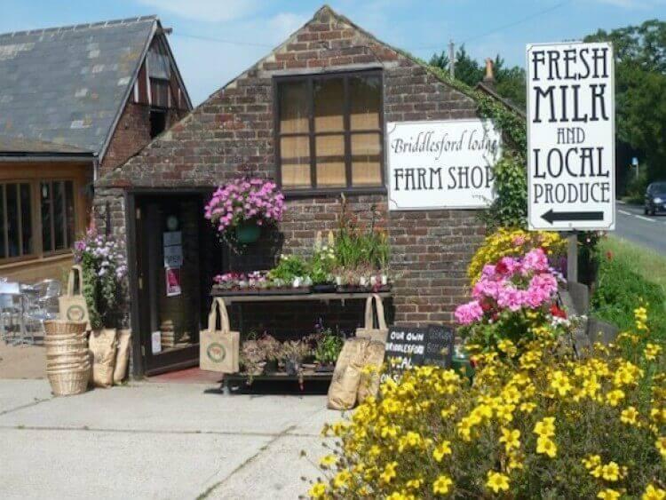 Briddlesford Lodge Farm Shop Isle of Wight