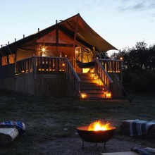 Glamping Tents, Yarmouth, Isle of Wight
