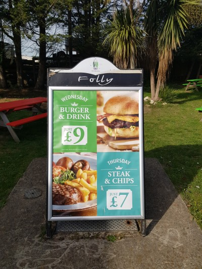 Folly Inn, Whippingham, East Cowes, Isle of Wight