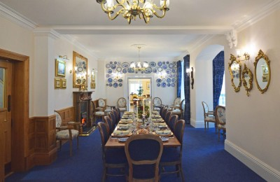Blue Dining Room