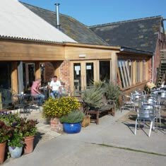Blue Bells Cafe, Briddlesford Lodge Farm, Wootton, Isle of Wight