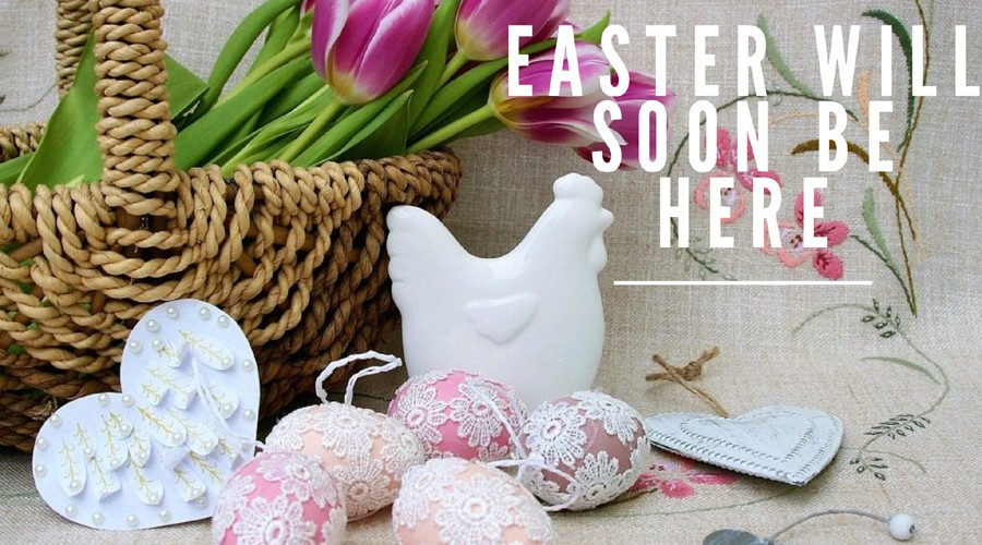 Easter will soon be here!