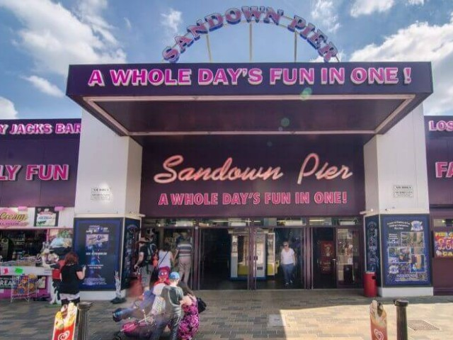Sandown Pier, Isle of Wight