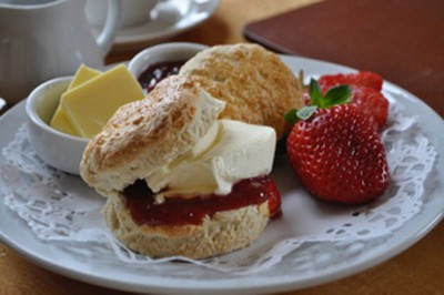 Highdown Inn Cream Tea