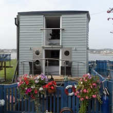 Houseboat, Harbourside, Bembridge, Isle of Wight
