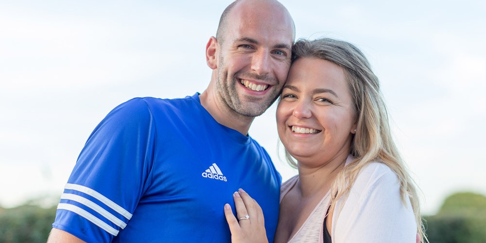 Wedding Proposal at the Orchards Holiday Park
