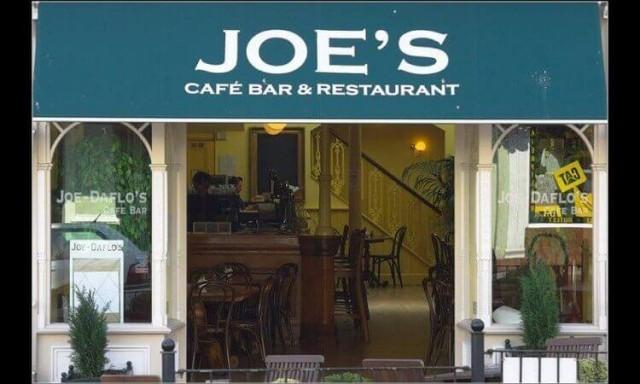 Joe's Cafe Bar Restaurant, Ryde, Isle of Wight