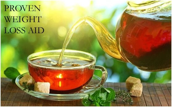 PROVEN WEIGHT LOSS AID in the form of a cuppa tea!