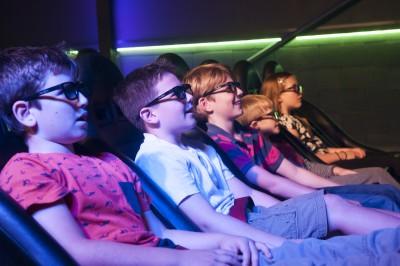 Everyone love the cinema!