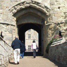 Carisbrooke Castle, Isle of Wight