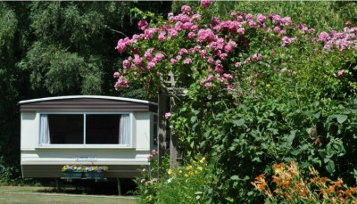 Silverglades Caravan Park, Yarmouth, Isle of Wight.