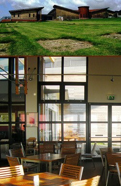 Forum Cafe, Brading Roman Villa, Isle of Wight