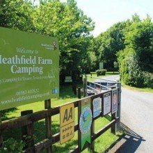 Heathfield Camping Isle of Wight