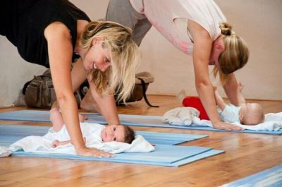 Baby and Mum Yoga Nettlecombe Farm, Whitwell, Isle of Wight Self catering farm holidays