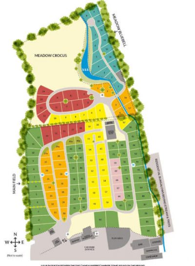 Appuldurcombe Gardens Holiday Park Isle of Wight Pitch Layout