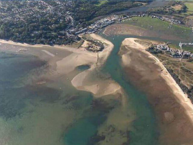 Bembridge Harbour Beach