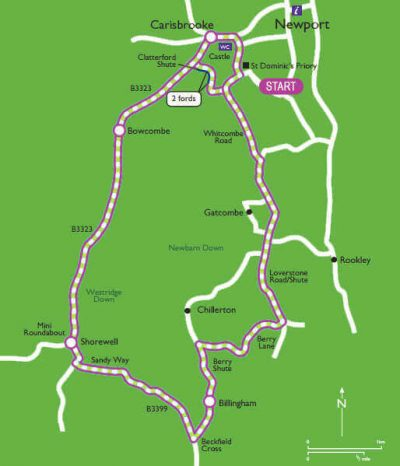 carisbrooke-cycle-route