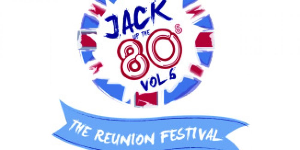 JACK UP THE 80's – 2018 PRESS RELEASE